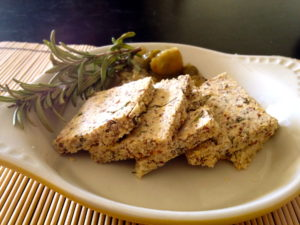 Almond Rosemary Crackers