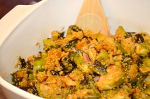 Brussel Quinoa Salad
